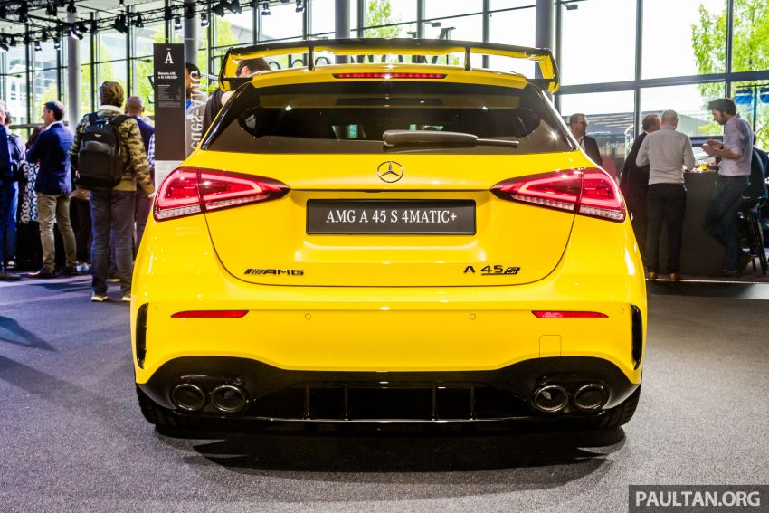 GALLERY: W177 Mercedes-AMG A45S, C118 CLA45S Image #1021618