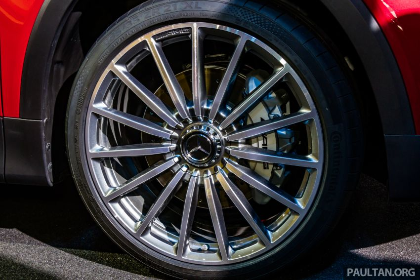 Mercedes-Benz GLB X247 dipamerkan di Frankfurt Image #1015320