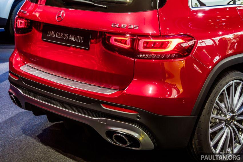 Mercedes-Benz GLB X247 dipamerkan di Frankfurt Image #1015321