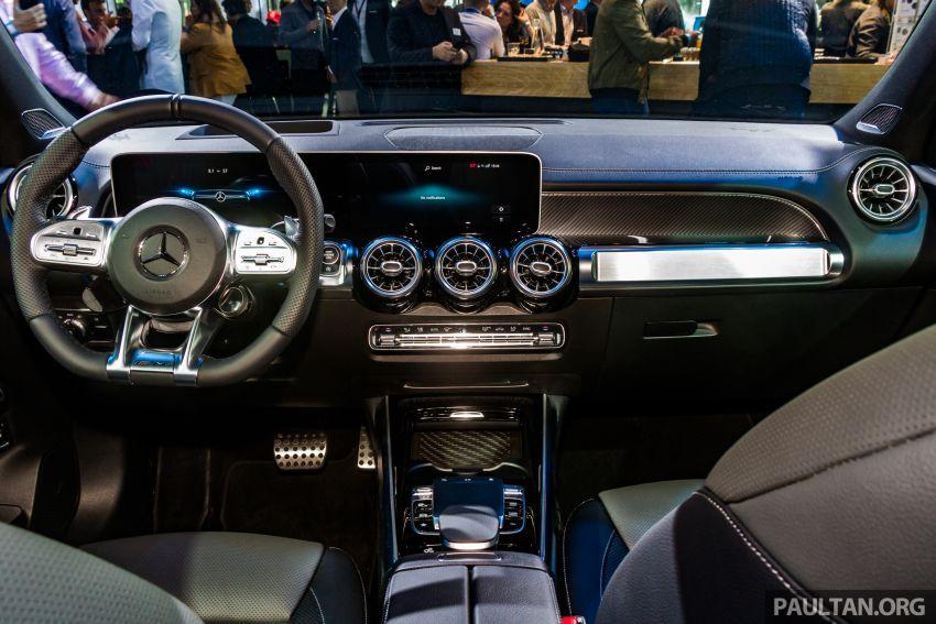 Mercedes-Benz GLB X247 dipamerkan di Frankfurt Image #1015327