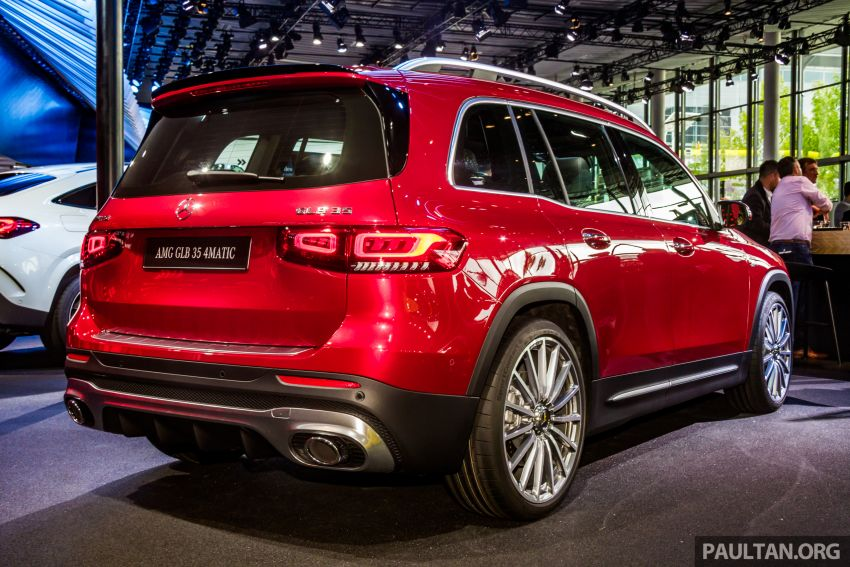 X247 Mercedes-Benz GLB range displayed at Frankfurt Image #1014622