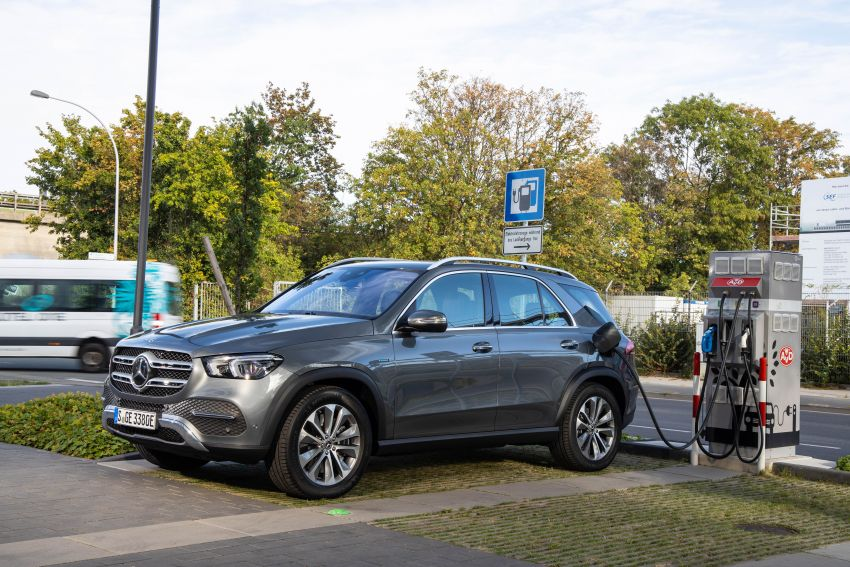 V167 Mercedes-Benz GLE 350de 4Matic and X253 GLC 300e 4Matic officially debut – as low as 1.1 l/100 km Image #1014312