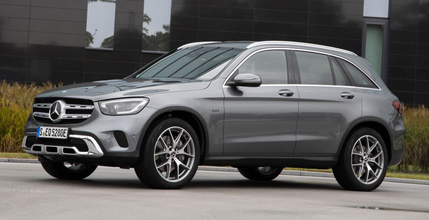 V167 Mercedes-Benz GLE 350de 4Matic and X253 GLC 300e 4Matic officially debut – as low as 1.1 l/100 km Image #1014302