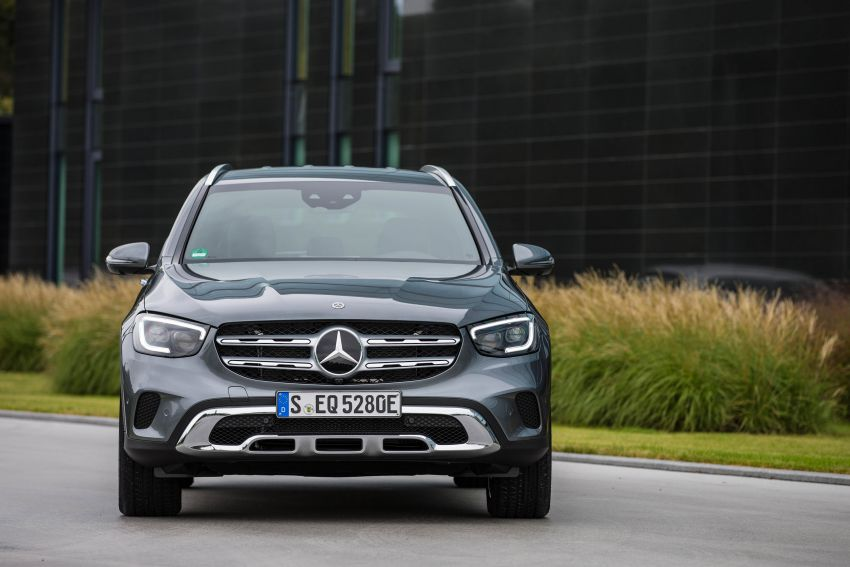 V167 Mercedes-Benz GLE 350de 4Matic and X253 GLC 300e 4Matic officially debut – as low as 1.1 l/100 km Image #1014303