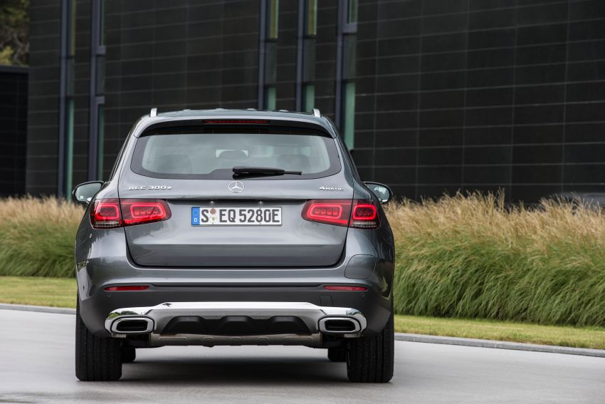 V167 Mercedes-Benz GLE 350de 4Matic and X253 GLC 300e 4Matic officially debut – as low as 1.1 l/100 km Image #1014304