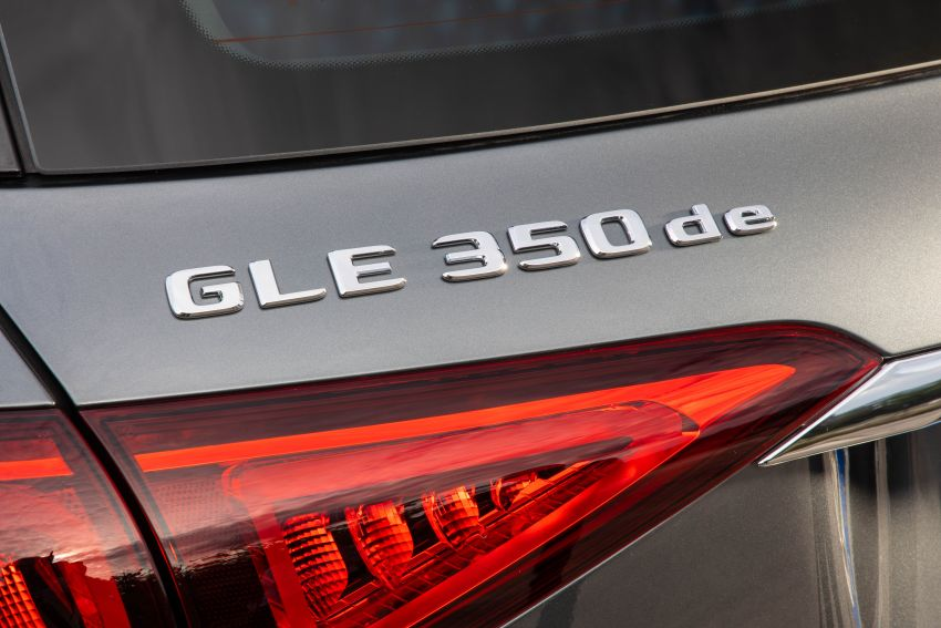 V167 Mercedes-Benz GLE 350de 4Matic and X253 GLC 300e 4Matic officially debut – as low as 1.1 l/100 km Image #1014325