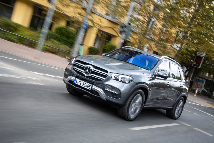 V167 Mercedes-Benz GLE 350de 4Matic and X253 GLC 300e 4Matic officially debut – as low as 1.1 l/100 km Image #1014317