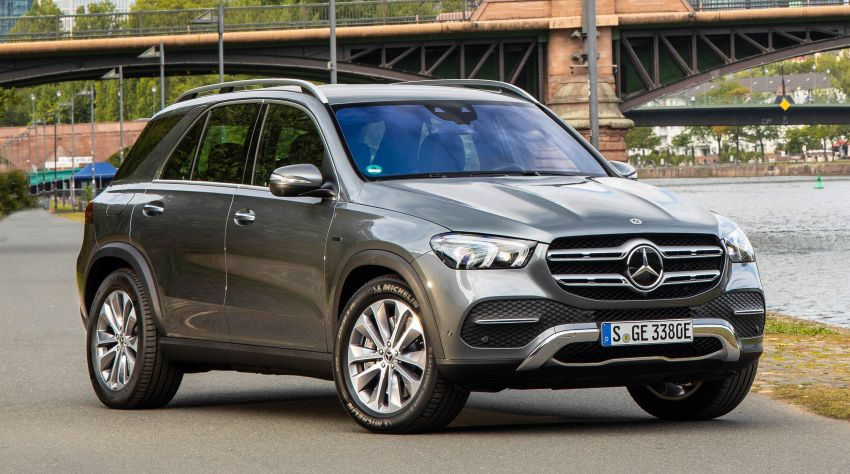 V167 Mercedes-Benz GLE 350de 4Matic and X253 GLC 300e 4Matic officially debut – as low as 1.1 l/100 km Image #1014318