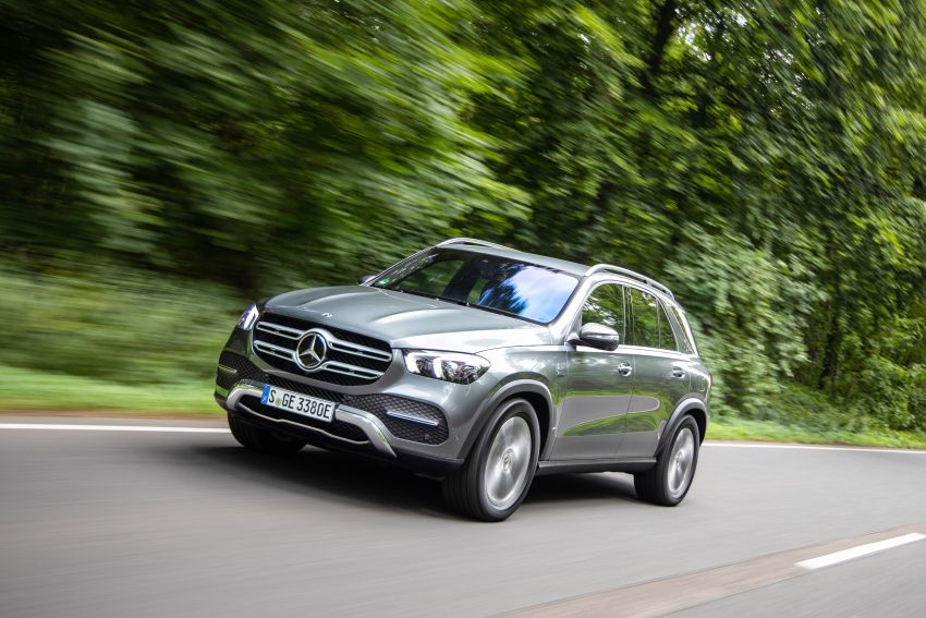 V167 Mercedes-Benz GLE 350de 4Matic and X253 GLC 300e 4Matic officially debut – as low as 1.1 l/100 km Image #1014320