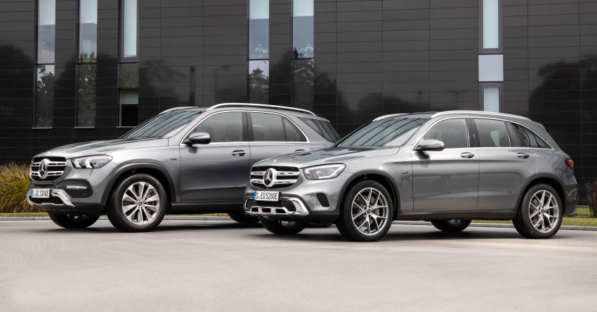 V167 Mercedes-Benz GLE 350de 4Matic and X253 GLC 300e 4Matic officially debut – as low as 1.1 l/100 km Image #1014297