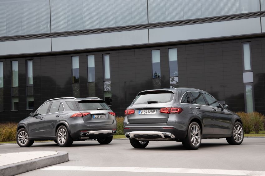 V167 Mercedes-Benz GLE 350de 4Matic and X253 GLC 300e 4Matic officially debut – as low as 1.1 l/100 km Image #1014299