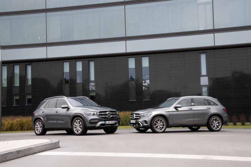 V167 Mercedes-Benz GLE 350de 4Matic and X253 GLC 300e 4Matic officially debut – as low as 1.1 l/100 km Image #1014300