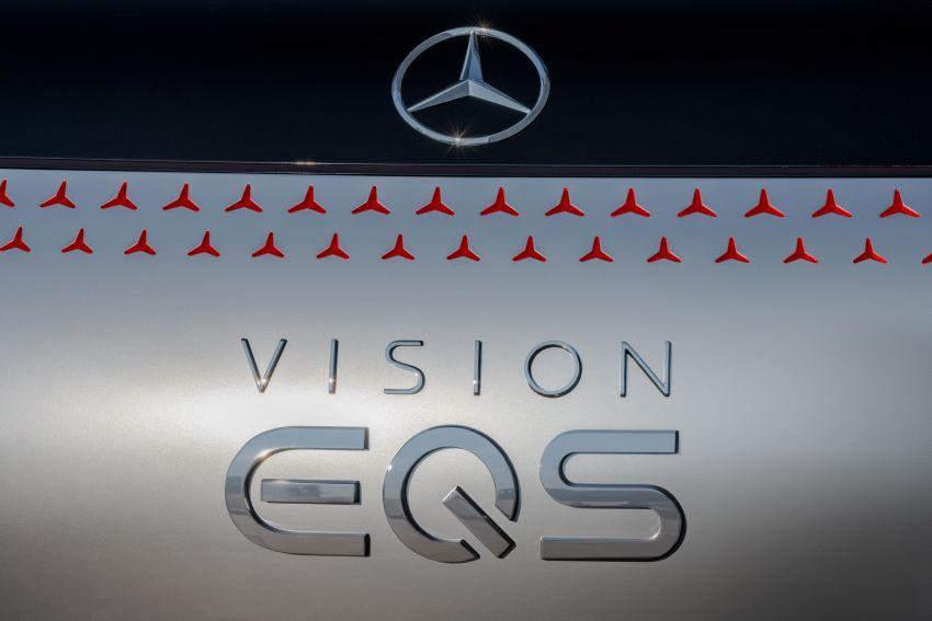 Mercedes-Benz Vision EQS buat penampilan sulung – konsep elektrik, 470 hp/760 Nm, 700 km jarak jalan Image #1012772
