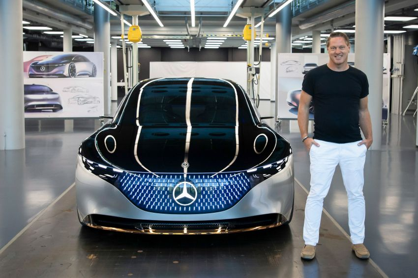 Mercedes-Benz Vision EQS debuts – concept electric flagship with over 470 hp, 760 Nm and 700 km range Image #1012539
