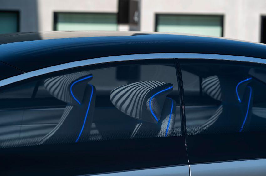 Mercedes-Benz Vision EQS buat penampilan sulung – konsep elektrik, 470 hp/760 Nm, 700 km jarak jalan Image #1012792