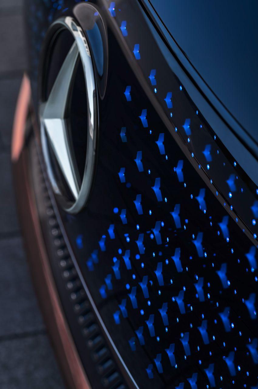 Mercedes-Benz Vision EQS buat penampilan sulung – konsep elektrik, 470 hp/760 Nm, 700 km jarak jalan Image #1012794