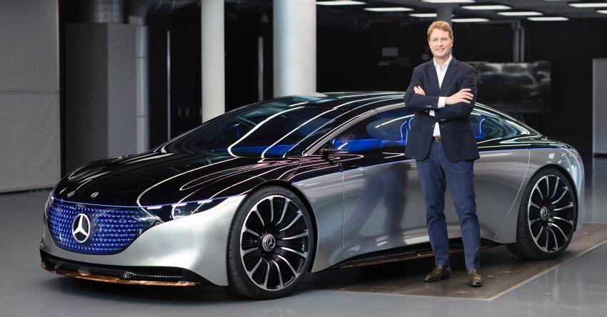 Mercedes-Benz Vision EQS buat penampilan sulung – konsep elektrik, 470 hp/760 Nm, 700 km jarak jalan Image #1012799