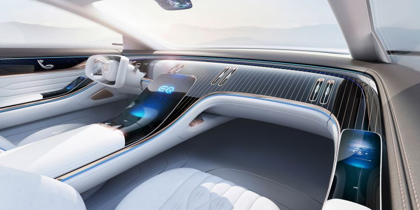 Mercedes-Benz Vision EQS debuts – concept electric flagship with over 470 hp, 760 Nm and 700 km range Image #1012645