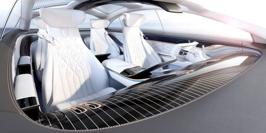 Mercedes-Benz Vision EQS debuts – concept electric flagship with over 470 hp, 760 Nm and 700 km range Image #1012647