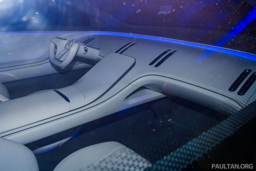 Mercedes-Benz Vision EQS debuts – concept electric flagship with over 470 hp, 760 Nm and 700 km range Image #1012685