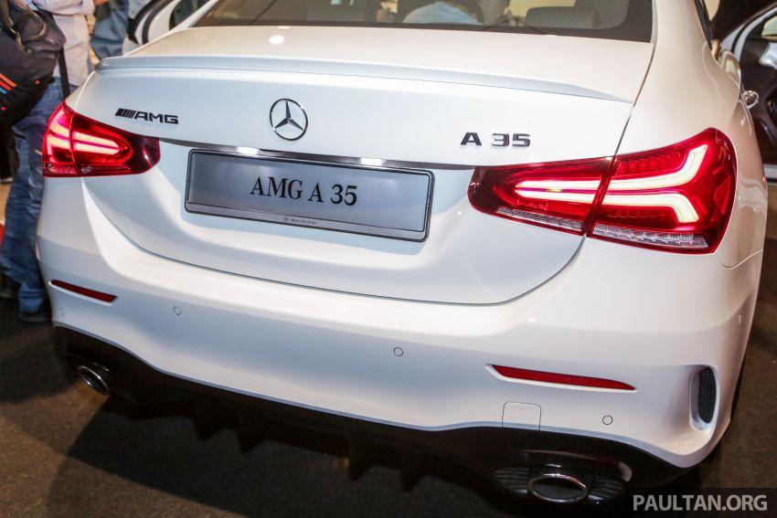 V177 Mercedes-AMG A35 4Matic Sedan launched in M'sia: 306 hp/400 Nm, 0-100 km/h in 4.8 secs, RM349k Image #1020451