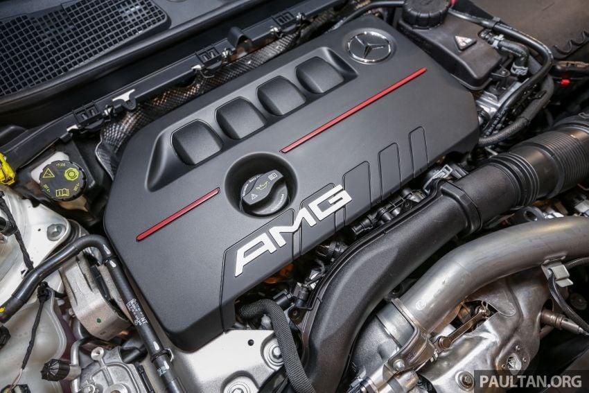 V177 Mercedes-AMG A35 4Matic Sedan launched in M'sia: 306 hp/400 Nm, 0-100 km/h in 4.8 secs, RM349k Image #1020458