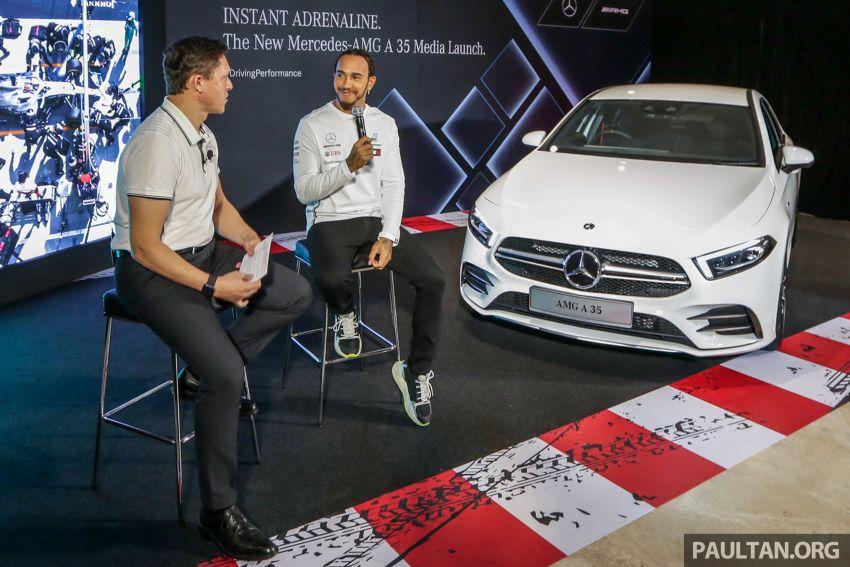 V177 Mercedes-AMG A35 4Matic Sedan launched in M'sia: 306 hp/400 Nm, 0-100 km/h in 4.8 secs, RM349k Image #1020459