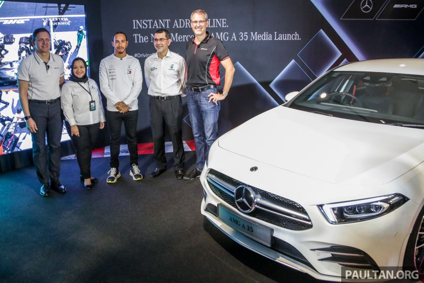 V177 Mercedes-AMG A35 4Matic Sedan launched in M'sia: 306 hp/400 Nm, 0-100 km/h in 4.8 secs, RM349k Image #1020460