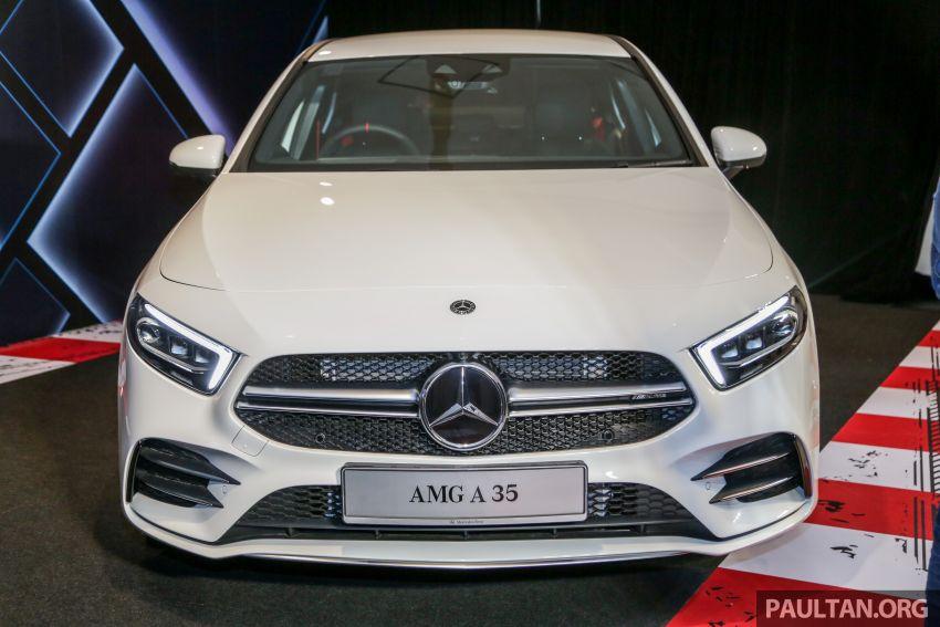 V177 Mercedes-AMG A35 4Matic Sedan launched in M'sia: 306 hp/400 Nm, 0-100 km/h in 4.8 secs, RM349k Image #1020434