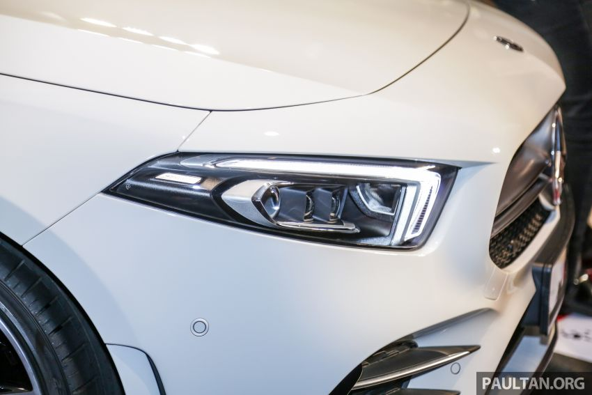 V177 Mercedes-AMG A35 4Matic Sedan launched in M'sia: 306 hp/400 Nm, 0-100 km/h in 4.8 secs, RM349k Image #1020437