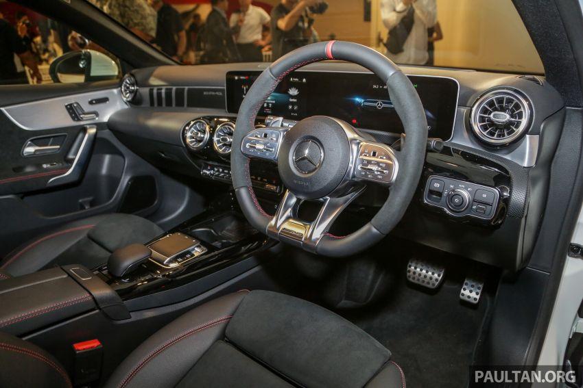 V177 Mercedes-AMG A35 4Matic Sedan launched in M'sia: 306 hp/400 Nm, 0-100 km/h in 4.8 secs, RM349k Image #1020461