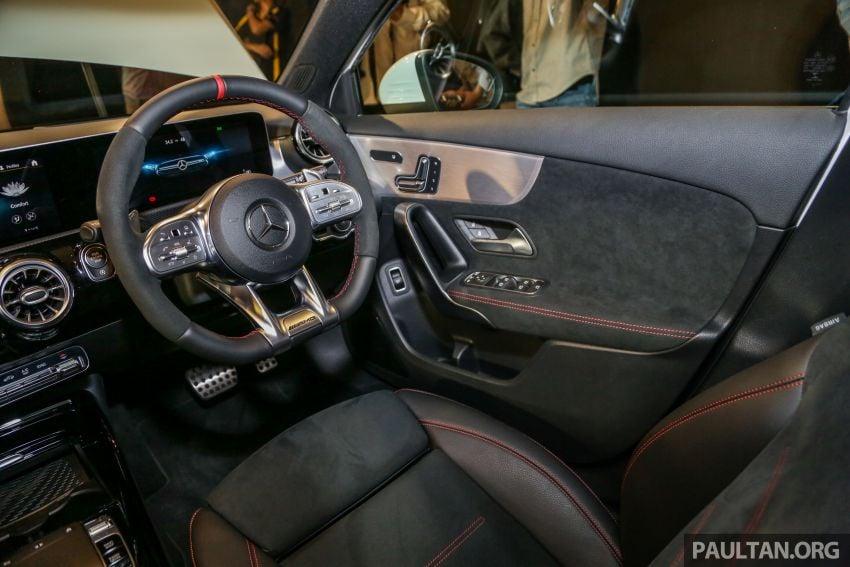 V177 Mercedes-AMG A35 4Matic Sedan launched in M'sia: 306 hp/400 Nm, 0-100 km/h in 4.8 secs, RM349k Image #1020487