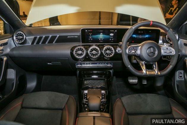 V177 Mercedes Amg A35 4matic Sedan Launched In M Sia 306 Hp 400 Nm 0 100 Km H In 4 8 Secs Rm349k Paultan Org