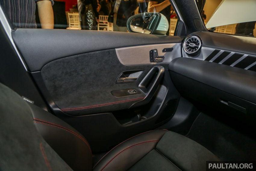 V177 Mercedes-AMG A35 4Matic Sedan launched in M'sia: 306 hp/400 Nm, 0-100 km/h in 4.8 secs, RM349k Image #1020488