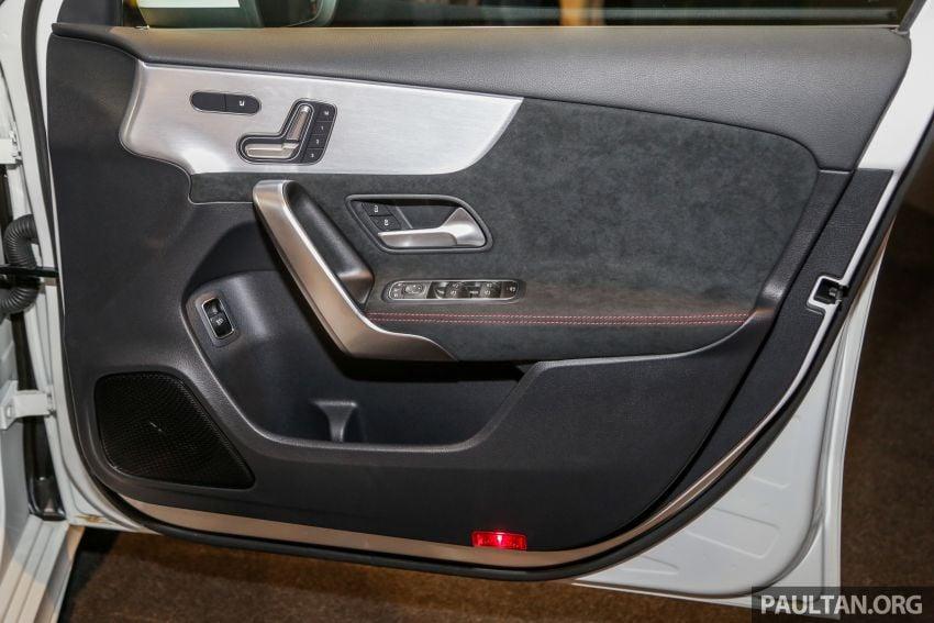 V177 Mercedes-AMG A35 4Matic Sedan launched in M'sia: 306 hp/400 Nm, 0-100 km/h in 4.8 secs, RM349k Image #1020489