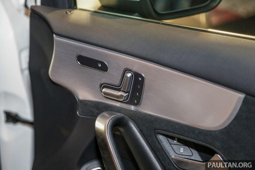 V177 Mercedes-AMG A35 4Matic Sedan launched in M'sia: 306 hp/400 Nm, 0-100 km/h in 4.8 secs, RM349k Image #1020491