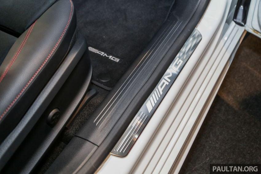 V177 Mercedes-AMG A35 4Matic Sedan launched in M'sia: 306 hp/400 Nm, 0-100 km/h in 4.8 secs, RM349k Image #1020499