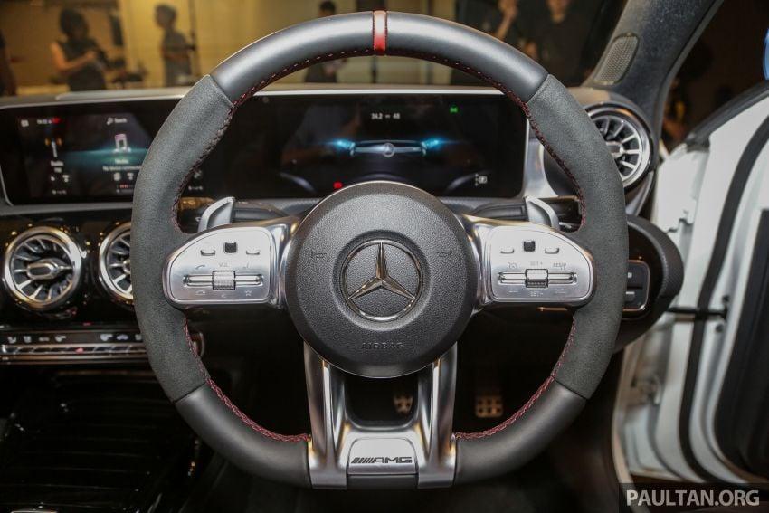 V177 Mercedes-AMG A35 4Matic Sedan launched in M'sia: 306 hp/400 Nm, 0-100 km/h in 4.8 secs, RM349k Image #1020465