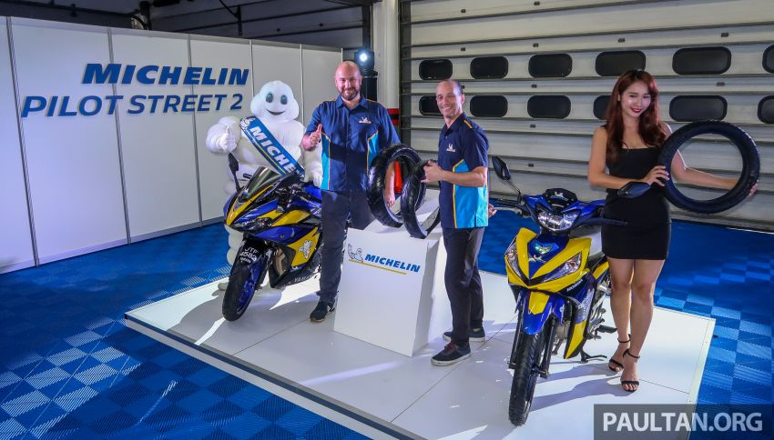 2019 Michelin Pilot Street 2 tyre launched at Sepang Image #1010893