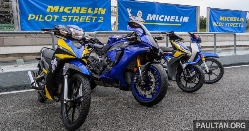 2019 Michelin Pilot Street 2 tyre launched at Sepang Image #1010890