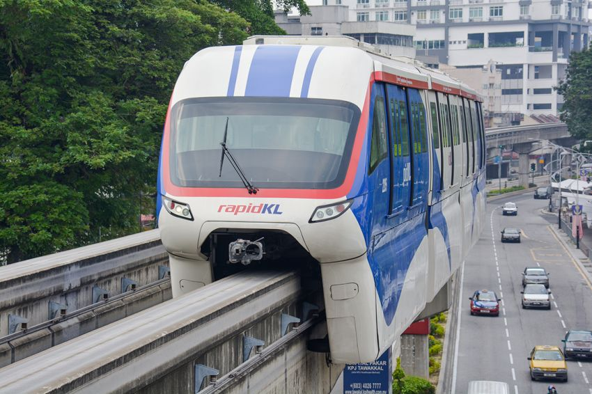 Two new KL Monorail four-car train sets enter service Image #1016837