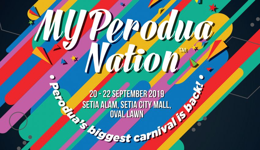 MYPerodua Nation carnival in Setia City next weekend Image #1011953