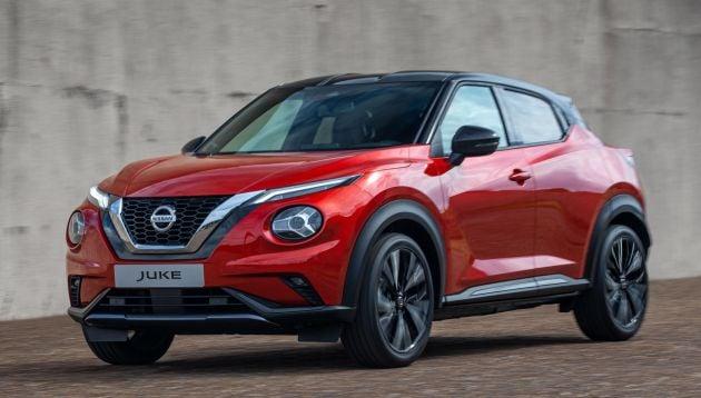 New Nissan Juke debuts - second-gen is larger, lighter