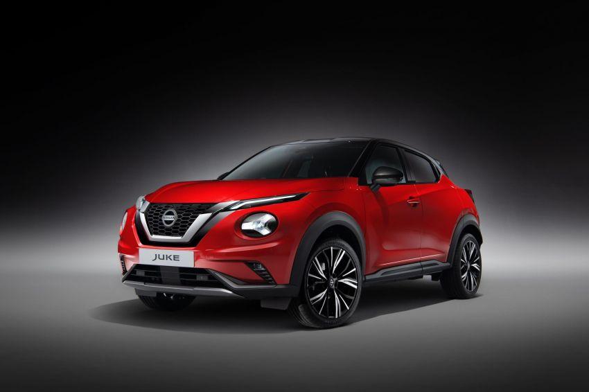 New Nissan Juke debuts – second-gen is larger, lighter Image #1010351