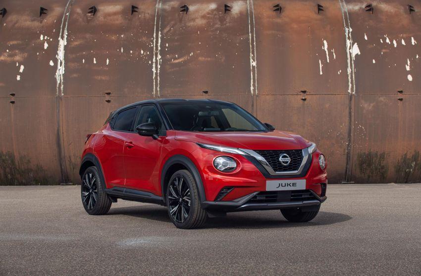 New Nissan Juke debuts – second-gen is larger, lighter Image #1010344