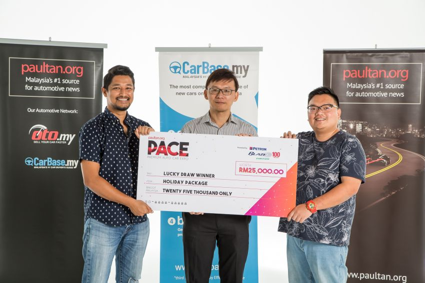 <em>paultan.org</em> PACE 2018 visitor bought a Mercedes-Benz GLC, wins RM25k luxury holiday in lucky draw Image #1010831