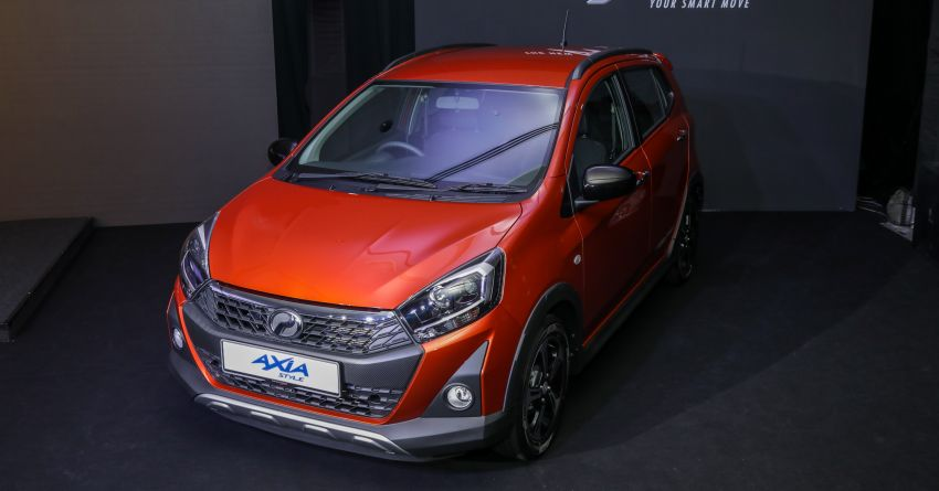 2019 Perodua Axia launched – 6 variants, new SUV-inspired 'Style' model, VSC and ASA, RM24k to RM43k Image #1018231