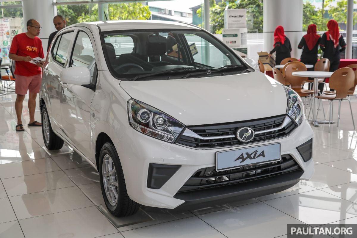 Perodua Axia 2019 - pilih G atau GXtra? Beza RM1.5k