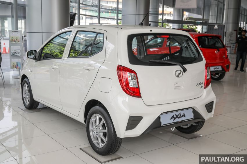 2019 Perodua Axia launched – 6 variants, new SUV-inspired 'Style' model, VSC and ASA, RM24k to RM43k Image #1018379