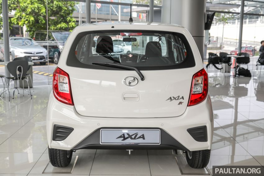 2019 Perodua Axia launched – 6 variants, new SUV-inspired 'Style' model, VSC and ASA, RM24k to RM43k Image #1018384